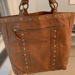 Temperley Leather Tote Bag